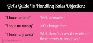 Handling Objections In Sales To handling objections
