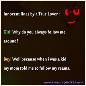 innocent jokes innocent lines by a true lover