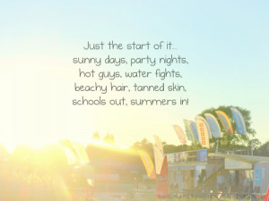 want to have a perfect summer with lots of sunshine and someone ...