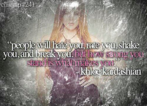 cute, kardashian girls, pretty, quote, quotes, true
