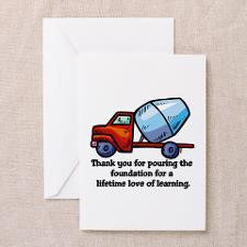 Thank you teacher gifts Greeting Cards (Package of for