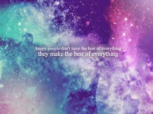 galaxy, girls, happy, love, quote, stars, word