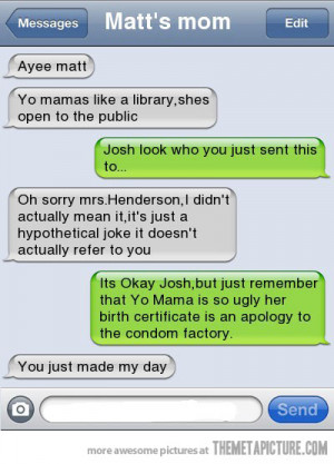 Funny photos funny text message friend mom