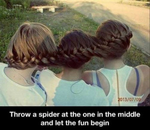 funny-pictures-girls-hair-spider