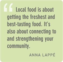 How can people help support their local food system