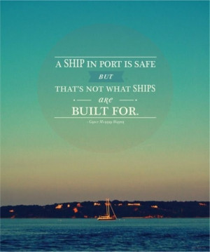 Take your ship out to sea!