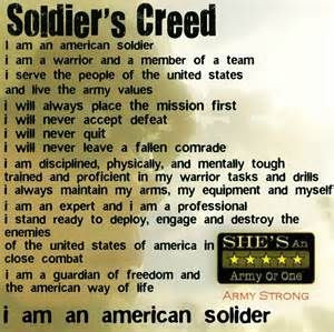 Creed, Soldiers Angel, Famous Quotes, Female Soldiers Quotes, Quotes ...