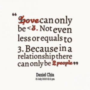 Quotes Picture: love can only be