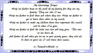 ... Quotes, Genealogy Scrapbook, Genealogy Prayer Mi, Genealogy Quotes