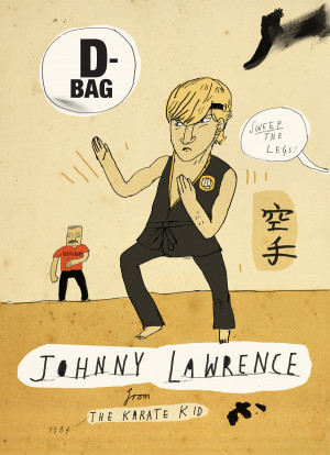 Johnny Lawrence Shirt Patrick latimer
