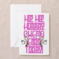 Cancer Chemo Over Greeting Card for