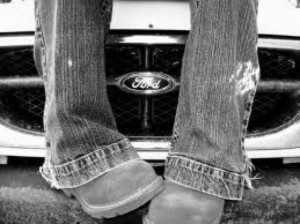 Big trucks and boots.... Yes sir!!!