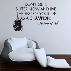 Home › Quotes › Muhammad Ali Boxing Wall Sticker Quote