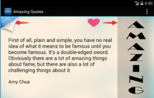 quotes an awesome app we claim it strong with over 1089 amazing quotes ...