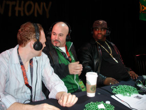 Patrice with Bob Kelly and Bill Burr