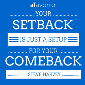 ComeBack Success Quote from Steve Harvey