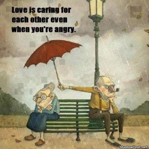 Caring Even When Angry