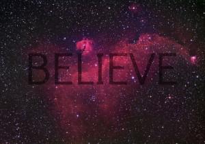 Universe Quotes Believe glitter stars universe