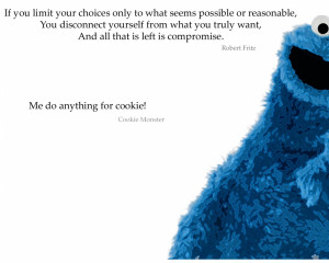 Cookie Monster Inspirational Quotes