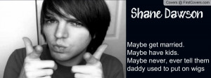 Shane Dawson with quote cover