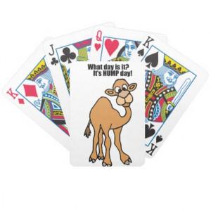 funny_hump_day_camel_art_poker_cards-rcadef84c7c404754acb20904221f4b9a ...