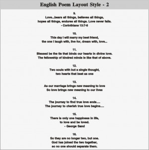 poem layout 2 english poem layout 3 english poem layout 4 english poem ...