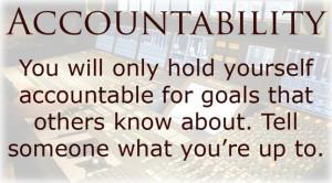 Accountability + Facebook