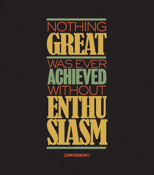 Quotes – Typographic Poster Series by POGO