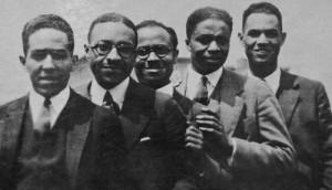 ... Johnson, E. Franklin Frazier, Rudolph Fisher, and Hubert Delaney