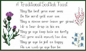 scottish sayings and poems in cross stitch scottish gaelic phrases