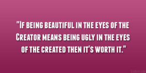 quotes about being ugly