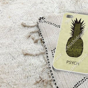 Psych Pineapple Quotes Psych pineapple quotes case for iphone 5, 5s, 4 ...