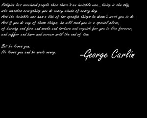 quotes atheism george carlin 1280x1024 wallpaper Knowledge Quotes HD