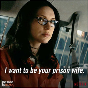 want to be your prison wife