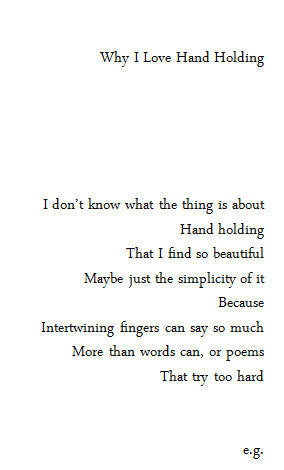 love cute quote holding hands