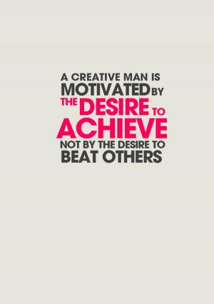Ayn Rand's Quote by Nicholas Van, via Behance