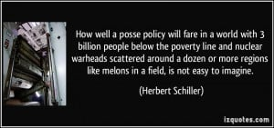policy will fare in a world with 3 billion people below the poverty ...