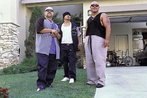 ... NEXT FRIDAY with (from left to right) Rolando Molina, Jacob Vargas and