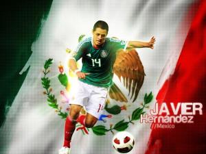 soccer mexico javier hernandez 1280x960 wallpaper Nation Mexico HD
