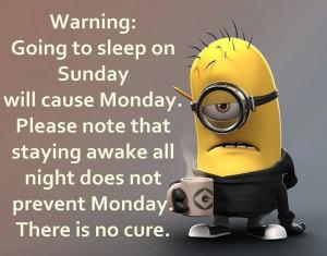 To+Sleep+Sunday+minions+sunday+sunday+quotes+happy+sunday+sunday+humor ...