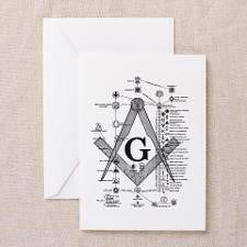Masonic Bodies Greeting Cards (Pk of 20) for