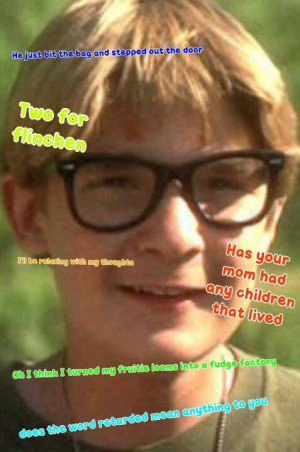 Teddy from stand by me quotes