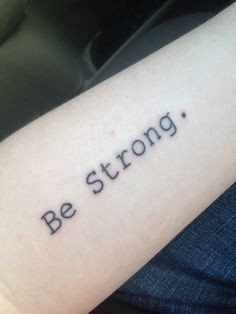 strong you are until tattoo quotes about being strong strong
