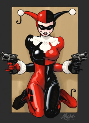 Twisted Characters Harley Quinn
