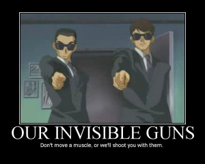 Motivational Poster - Our Invisible Guns photo OURINVISIBLEGUNS.png