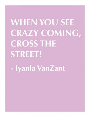 Iyanla VanZant on the Oprah Winfrey show.....but what do you do if ...