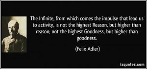 More Felix Adler Quotes