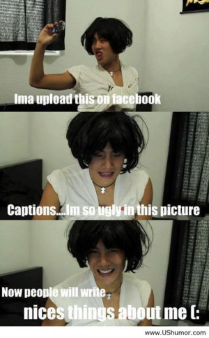 Selfies on Facebook US Humor - Funny pictures, Quotes, Pics, Photos ...