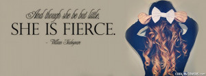 Little But Fierce Facebook Cover