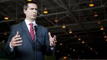 Ontario Premier Dalton McGuinty answers questions during a press ...